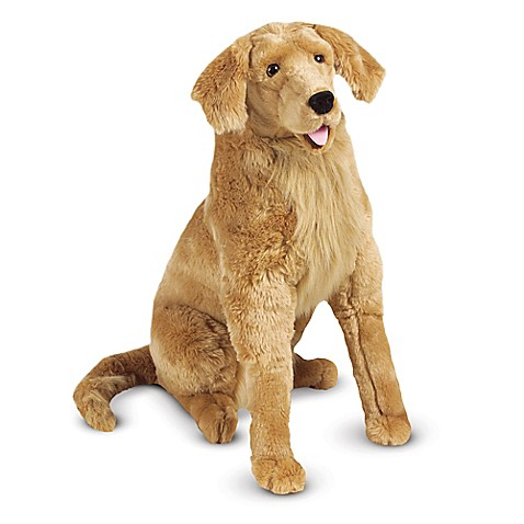 melissa doug golden retriever dog giant stuffed animal buybuy baby. Black Bedroom Furniture Sets. Home Design Ideas