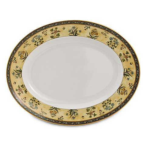 Wedgwood® India 13.75-Inch Oval Platter