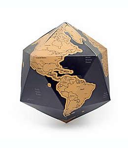 Mapa del mundo Kikkerland® para rascar