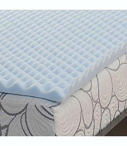 Colchoneta individual de memory foam SALT™ de 3.81 cm