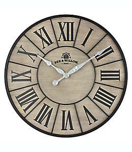 Reloj de pared Bee & Willow™ Home color café gris/negro