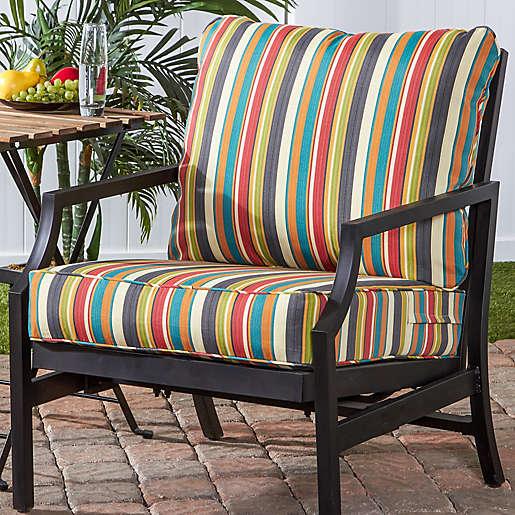 Piece Outdoor Deep Seat Cushion Set, Deep Seating Patio Cushions Canada