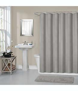 Forro para cortina de baño de poliéster  Titan, 1.77 x 1.82 m color gris