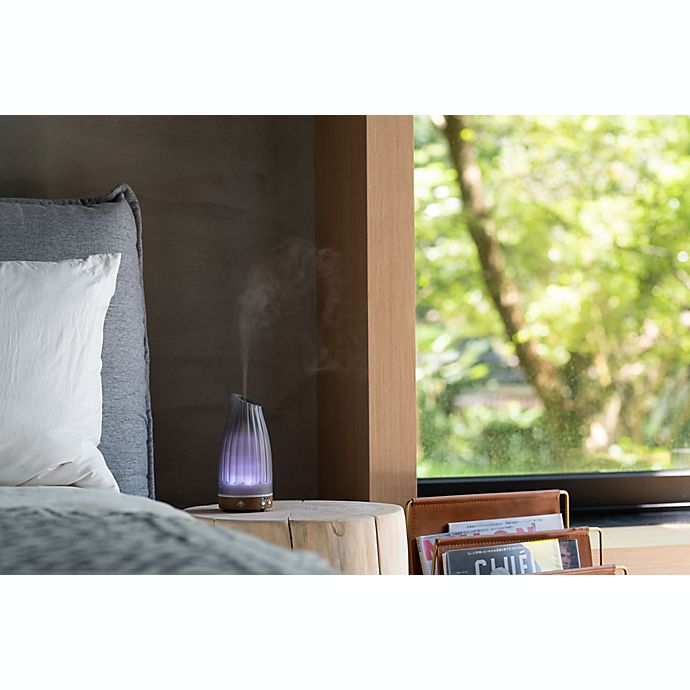 Serene House Twilight Glass Ultrasonic Aromatherapy Diffuser In Grey Bed Bath Beyond