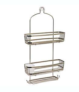 Organizador para regadera .ORG® NeverRust™ extra grande de acero inoxidable