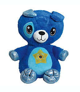 Perro de peluche Star Belly Dream Lites® en azul