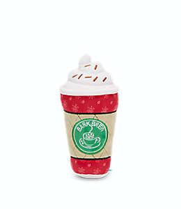 Juguete para perro BARK Pupkin Spice Latte con forma de café