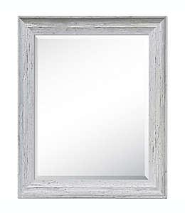 Espejo con marco deslavado
