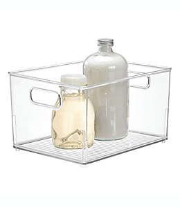Contenedor para baño de plástico iDesign® chico