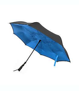 Paraguas plegable invertido BetterBrella™ con lámpara