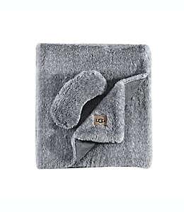 Set de viaje de poliéster UGG® Pinecreek color gris carbón