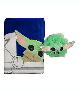 Set de toalla de medio baño y esponja Star Wars™, 2 piezas