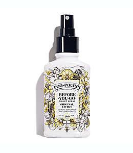 Desodorante en aerosol para baño de aceites esenciales naturales Poo-Pourri® Before-You-Go®, de 4 oz. (118.29 mL), aroma cítrico original