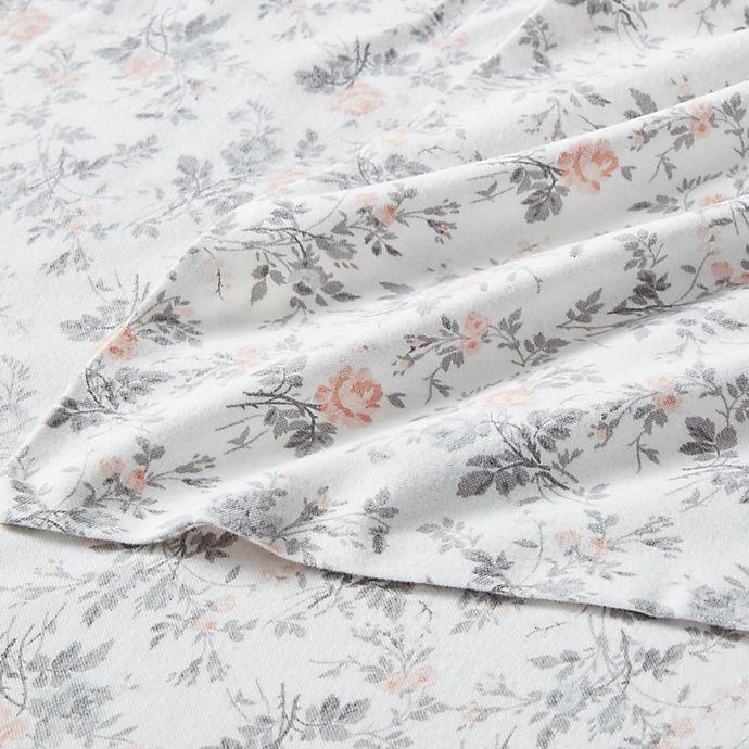 Laura Ashley Rosalie Flannel Sheet Set Bed Bath Beyond