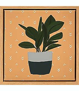 Cuadro decorativo de lienzo Wild Sage™ diseño de planta