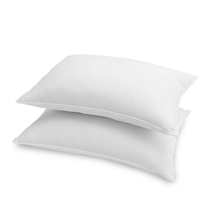 Grand Estate Hotel 2 Pack Down Alternative Medium Standard Queen Bed Pillows Bed Bath Beyond