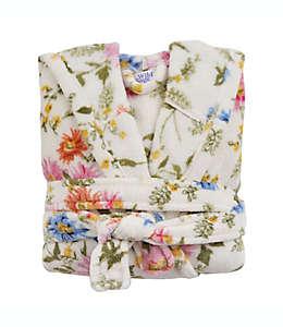 Bata chica/mediana de franela Wild Sage™ Sadie con diseño floral