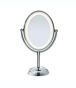 Espejo ovalado doble con base Conair®  Reflections