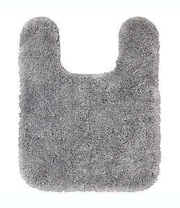 Tapete de poliéster de PET para baño NestWell™ en herradura color gris plata