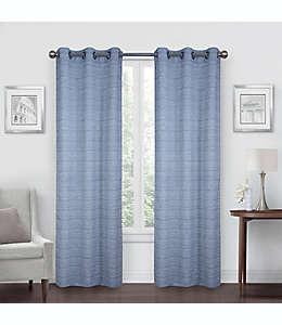 Cortinas de poliéster con filtro de luz Simply Essential™ Benton de 2.13 m color azul marino