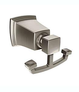 Gancho doble para baño de metal Moen® Boardwalk color níquel cepillado