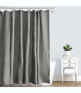 Cortina de baño de algodón Haven™ de 1.82 x 1.82 m color granito