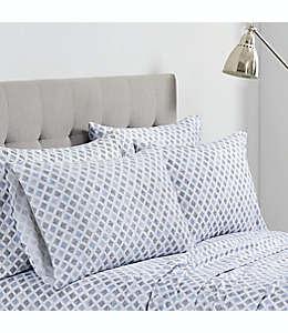 Set de fundas para almohadas estándar de microfibra Simply Essential™ Sketch Diamond