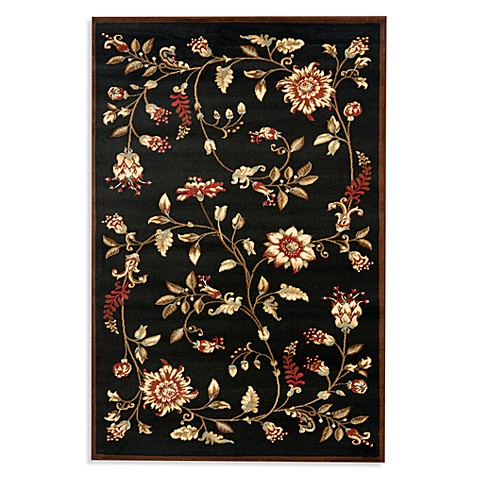 Safavieh Tobin Black/Multi 4-Foot x 6-Foot Accent Rug