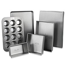 image of USA Pan Nonstick 6-Piece Bakeware Set