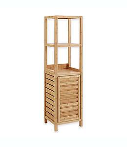 Mueble alto de bambú para baño Haven™ color natural