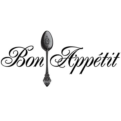Bon Appetit Vinyl Wall Decal Set Bed Bath  Beyond - Vinyl wall decals bed bath and beyond