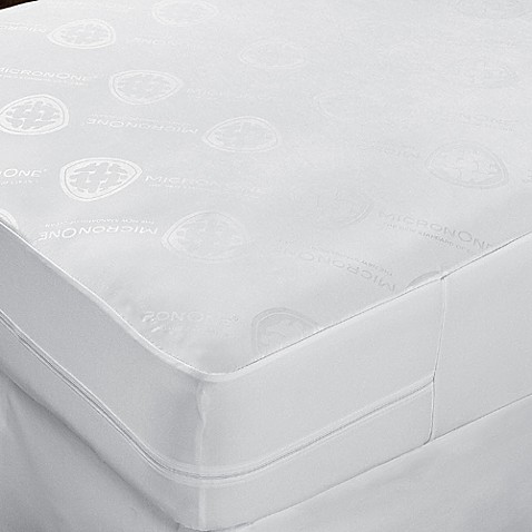 cleanrest® complete mattress cover in white - bed bath & beyond