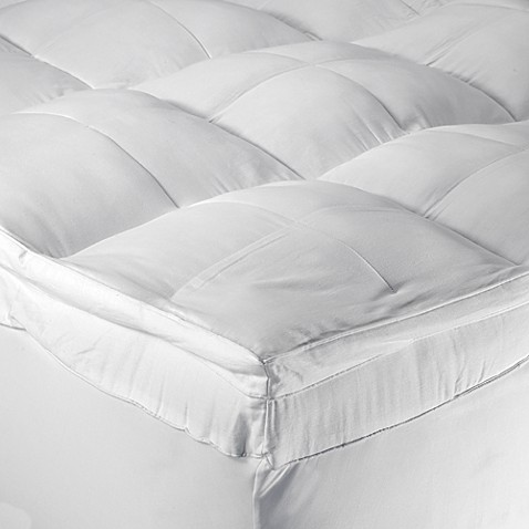 mattress pads & toppers - fiberbeds | bed bath & beyond