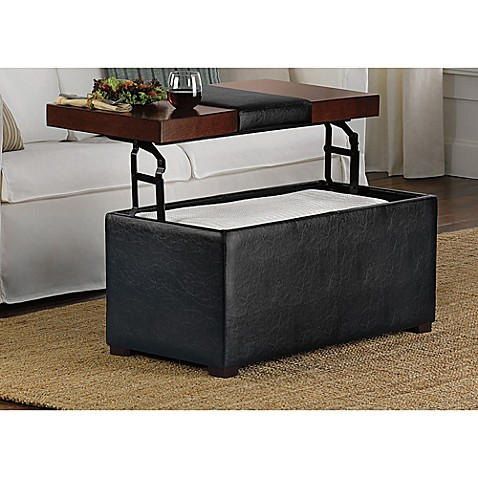 Arlington Lift Top Storage Ottoman Bed Bath Amp Beyond