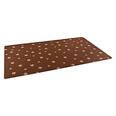 image of Drymate® Large Dog Bowl Place Mats with Paw Imprint