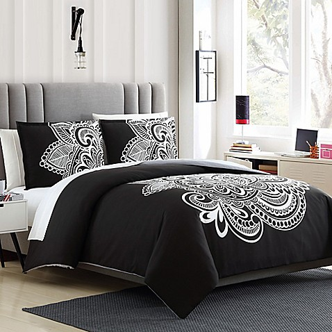 buy devin 3 piece reversible twin twin xl duvet cover set from bed bath beyond. Black Bedroom Furniture Sets. Home Design Ideas