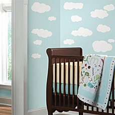Image Of White Clouds Peel U0026 Stick Wall Decals Part 82