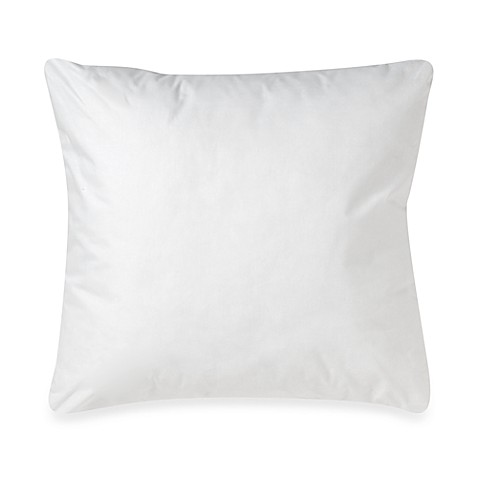 make-your-own-pillow square throw pillow insert - bed bath & beyond Make Your Own Throw Pillows