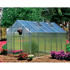 image of Riverstone Monticello Extruded Aluminum 8-Foot x 12-Foot Residential Greenhouse