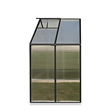 image of Riverstone Monticello Black 4-Foot Greenhouse Extension Kit in Black