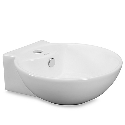 deep bathroom sinks elanti ec9819 porcelain white wall mounted bowl sink 12652