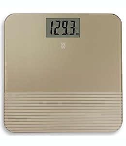Báscula digital Weight Watchers® Conair™ en oro