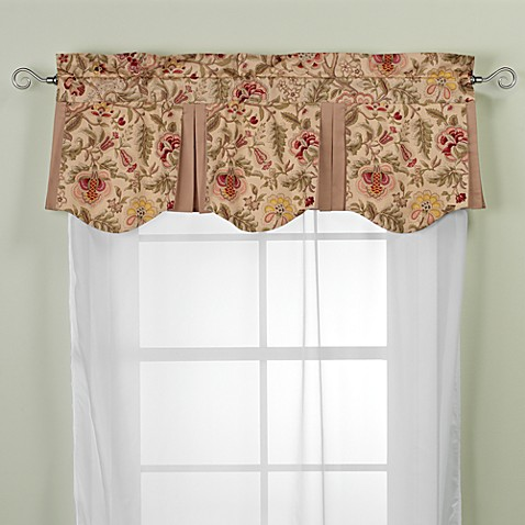 Living Room Valances window scarves | window valances - bed bath & beyond