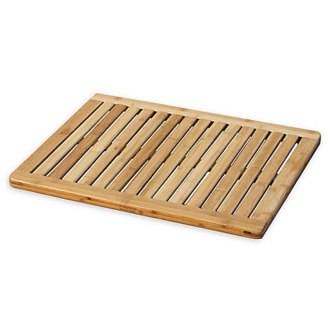 Delicieux 23.75 Inch X 17.75 Inch Bamboo Bath Mat