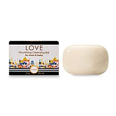image of basq Love Nourishing Cleansing Bar for Mom and Baby