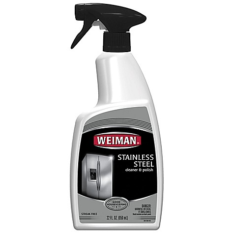 Weiman 174 Stainless Steel Cleaner Amp Polish In 22 Ounce Spray