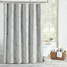 Periodic table of elements shower curtain bed bath beyond peri home chenille lattice shower curtain urtaz Choice Image