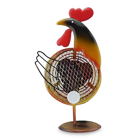 Himalayan Breeze Decorative Rooster Fan Bed Bath Amp Beyond