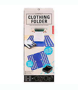 Doblador de ropa compacto de polipropileno Kikkerland Design™ color azul