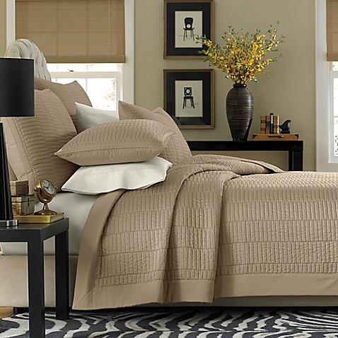 Real Simple 174 Dune Coverlet Bed Bath Amp Beyond